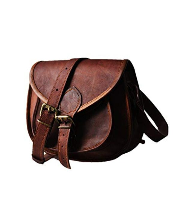 Women S Leather Vintage Messenger Cross Body Bag Online
